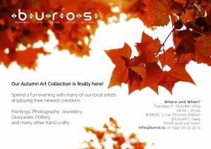 'Art In Buros' October 2014
