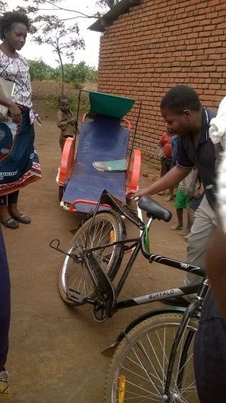 a bicycle ambulance