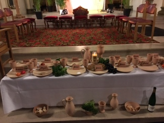 Passover Table, Holy Thursday