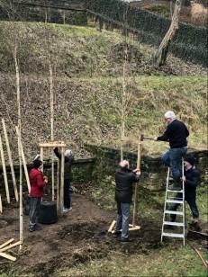 Tree planting ancienne cote d'Eich